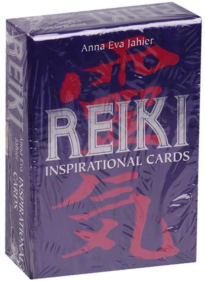 Anna Eva Jahier: Рейки. Карты вдохновения (инструкция на русском языке)