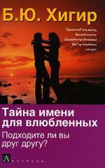 Хигир Б.: Тайна имени для влюбленных Подходите ли вы друг другу